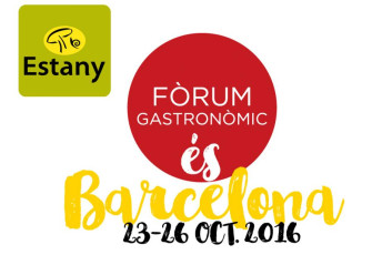 We will be in Fòrum Gastronòmic Barcelona  from 23rd to 26th October 2016