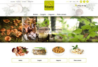 New company website Estany Bages Cargol