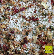 Dried Vegetables Risotto